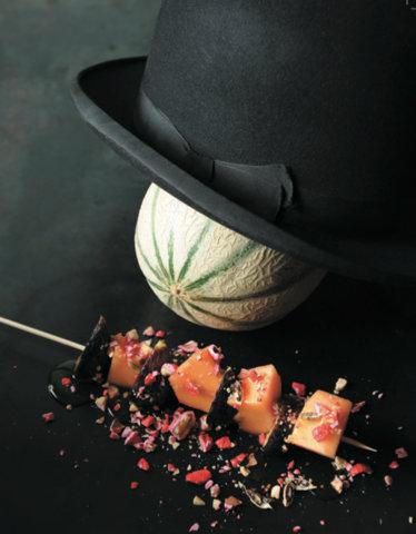 Recette du Melon rôti - (c) Jean-Charles Vaillant / Agnès Viénot Editions