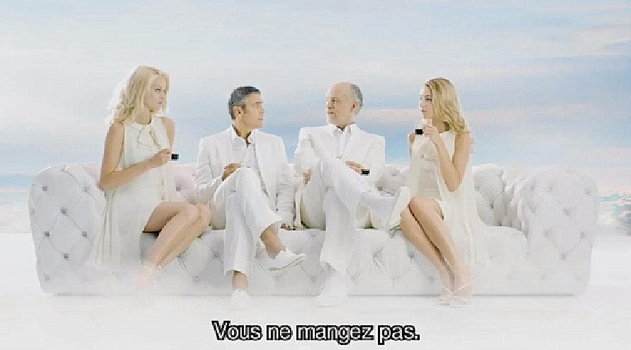 George Clooney et John Malkovitch : le paradis.