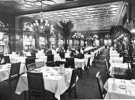 La grande salle à manger du Young's.