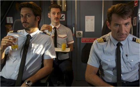 Amants passagers 1 cockpit