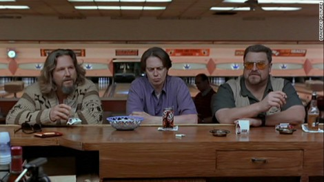 "Le ""Dude"" Jeff Bridges, Steve Buscemi, John Goodman. The Big Lebowski de Joel et Ethan Coen, 1998. (c) Polygram"