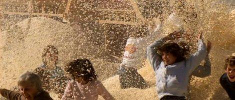 """""""Real Genius"""" de Martha Coolidge (1985). Pour remplir toute une maison de popcorn, l'équipe a dû griller du maïs pendant trois mois."""