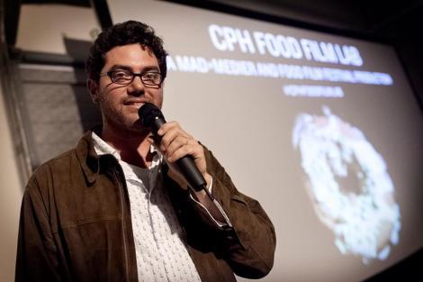Seth Unger lors de la soirée spéciale à Copenhague, le 28 août 2013. (c) FFF