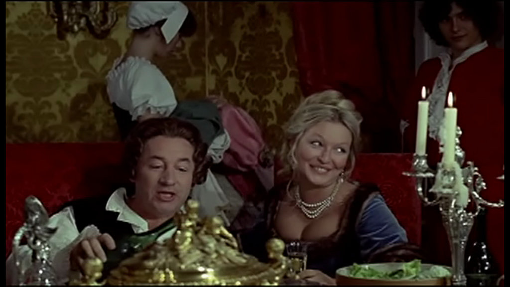 Que la fête commence : Philippe Noiret et Marina Vlady (1975)