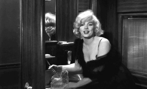 Marilyn et le pic à glace.