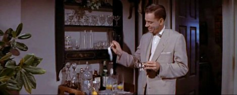 Tom Ewell et le Tom Collins de Sept ans de réflexion (The Seven Year Itch, 1955).