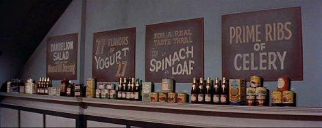 Le restaurant végétarien de Sept ans de réflexion (The Seven Year Itch, 1955).
