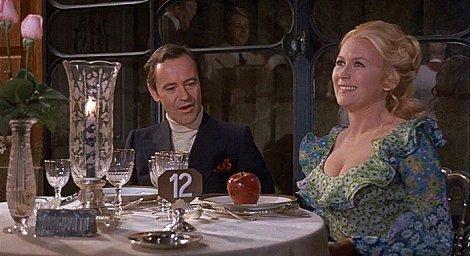 Jack Lemmon et Juliet Mills dans Avanti !, 1972.