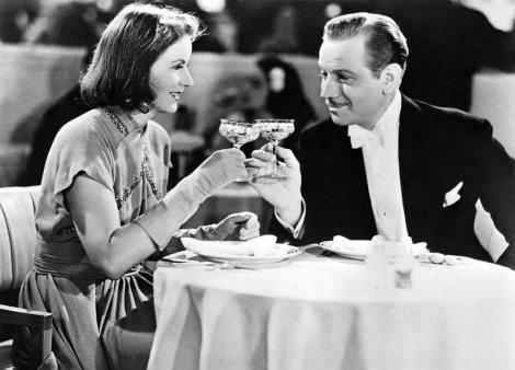 Greta Garbo et Melvyn Douglas dans Ninotchka (1939)