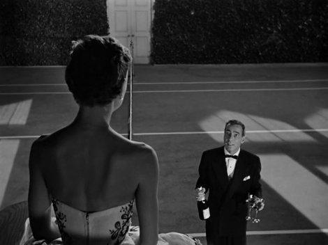 Audrey Hepburn et Humphrey Bogart dans Sabrina.