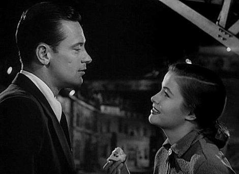William Holden et Nancy Olson dans Sunset Boulevard, 1950